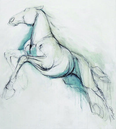 Clare Trenchard, 'Wild Horse', 2017