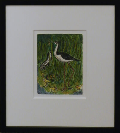 Frank X. Tolbert, 'Black Necked Stilt', 2015