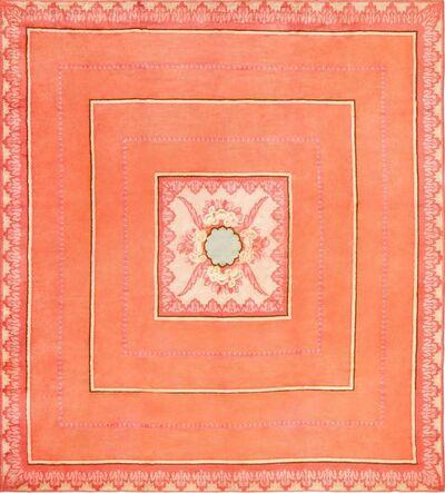 Jacques-Emile Ruhlmann, 'Jacques Emile Ruhlmann French Art Deco Carpet', ca. 1920