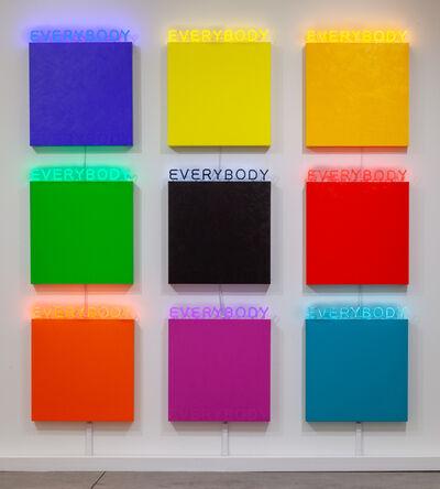 Deborah Kass, 'EVERYBODY', 2019