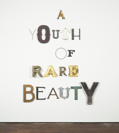Jack Pierson, 'A YOUTH OF RARE BEAUTY', 2014
