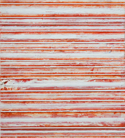 Robert Stuart, 'Red & White Bands', 2017
