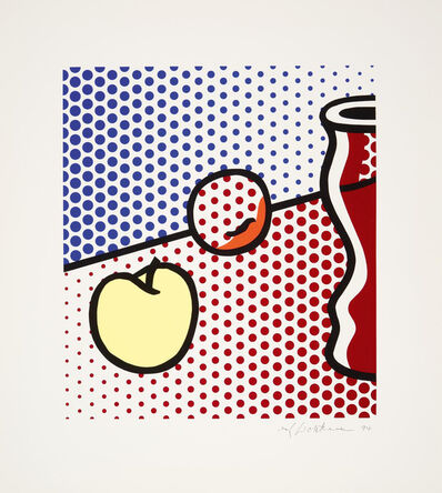 Roy Lichtenstein, 'Still Life with Red Jar', 1994