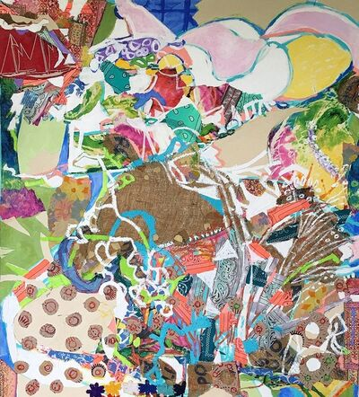 George Schulman, 'Untitled, Collage Painting', 2018