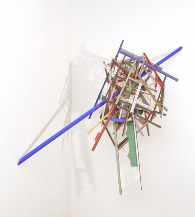 Ana Tiscornia, 'Corner with Blue Line', 2014