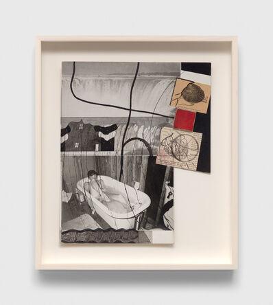 Ray Johnson, 'Untitled (Man in Bath)', 1990-1994
