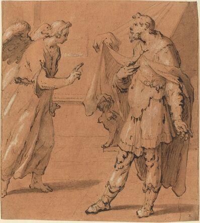 Cornelis Cornelisz van Haarlem, 'The Angel Appearing to the Centurion Cornelius', late 1590s