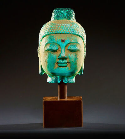 Marlene Rose, 'Stone Buddha - Aqua', 2021