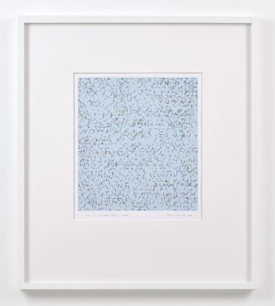 James Hugonin, 'study in light blue (ev I 1 - 108)', 2008