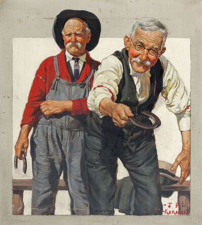 Joseph Francis Kernan, 'Country Gentleman, Magazine Cover', 1924