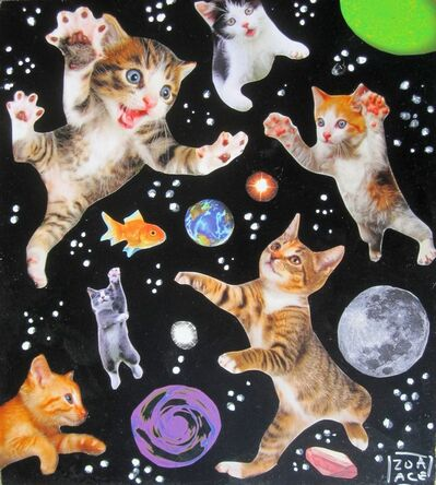 Zoa Ace, 'Space Cats', 2018