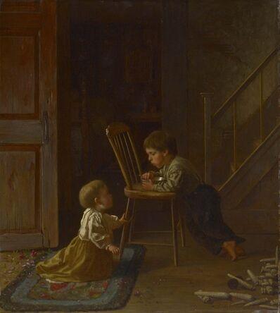 Eastman Johnson, 'Lunchtime', 1865