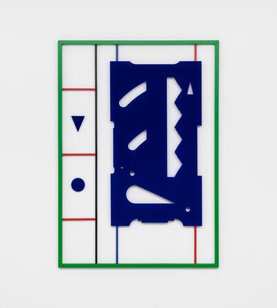 Raúl Díaz Reyes, 'blue (expanded)', 2019