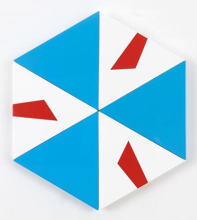 Pouran Jinchi, 'A as Alpha Hexagon', 2017
