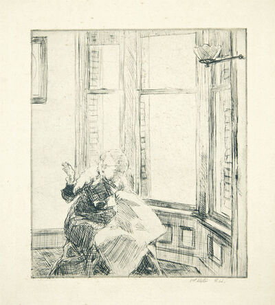Edward Hopper, 'The Bay Window', 1915-18
