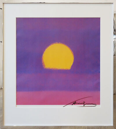 Andy Warhol, 'Sunset', 1980