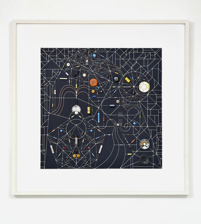 Leonardo Ulian, 'Technological Mandala 116 - transit within the black square', 2017