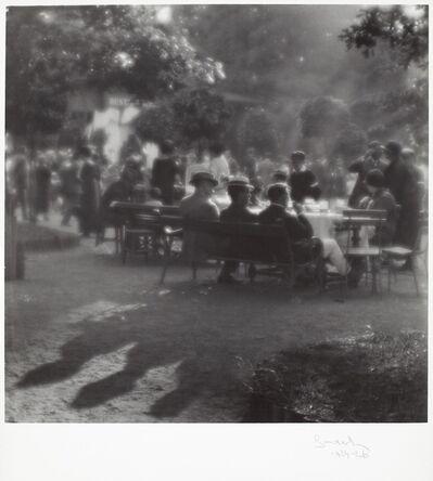 Josef Sudek, 'Dimanche après-midi à l'île Kolín', 1922-1926