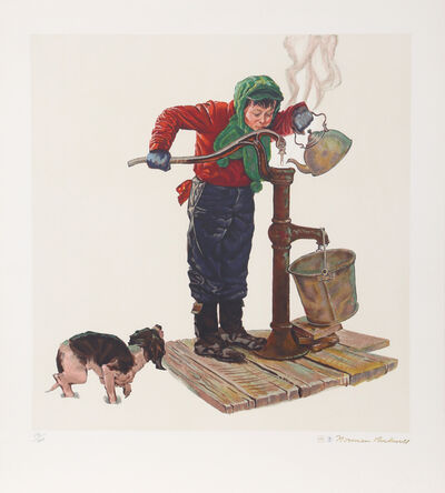 Norman Rockwell, 'Winter Morning', 1977
