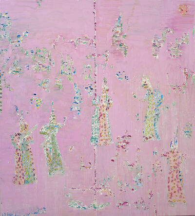 Reza Derakshani, 'Pink Party', 2020