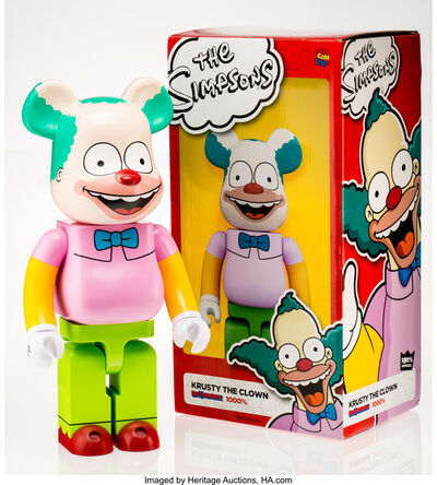 BE@RBRICK X The Simpsons, 'Krusty the Clown 1000%', 2016