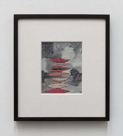 John Finneran, '7 Mouths (White)', 2015