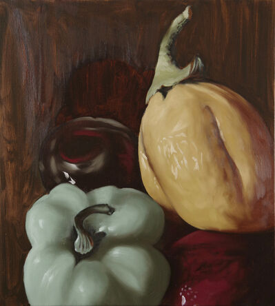 Stephen Peirce, 'Aubergine Pepper Cherries', 2018