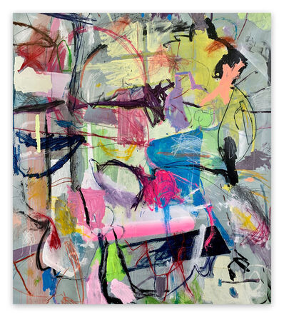 Yevhen Lisniak, 'Untitled21I (Abstract painting)', 2021