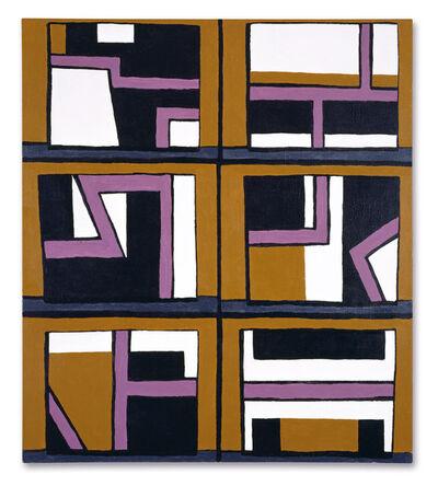 David Reeb, 'Six paintings', 2000