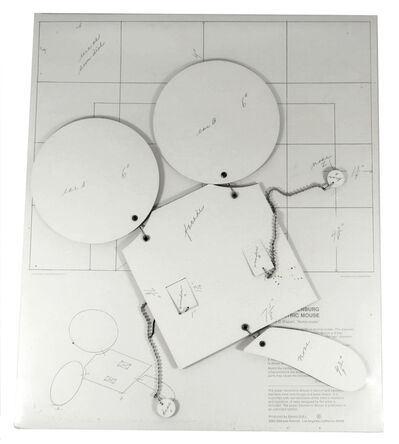 """Claes Oldenburg, 'Geometric Mouse : Scale D (Paper), """"Home-made""""', 1971"""