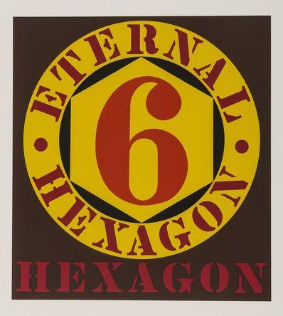 Robert Indiana, 'Eternal Hexagon (From Ten works by Ten Painters) (Sheehan 33)', 1964