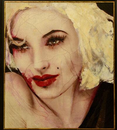 Lita Cabellut, 'Marilyn 12', 2012