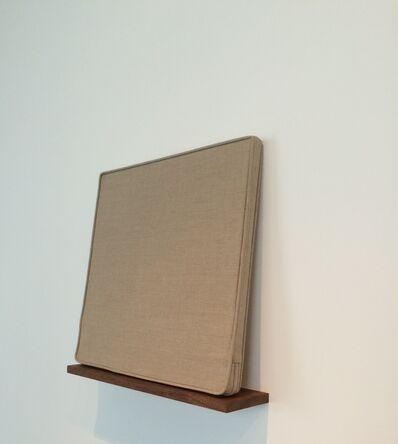 Analia Saban, 'Chair Cushion with Piping and Zipper', 2013