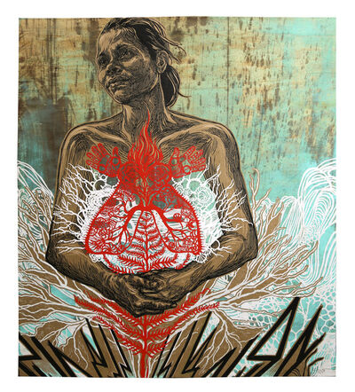 Swoon, 'Sonia', 2020
