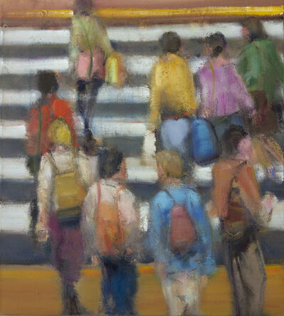 Simon Nicholas, 'Small Crosswalk', 2021