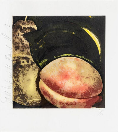 Donald Sultan, 'Still Life with Peach', 1987