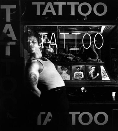 Greg Gorman, 'Tom Waits Blood, Los Angeles', 1980