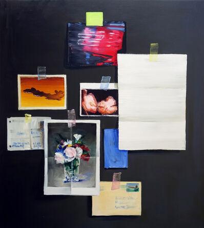 Cornelius Völker, 'Studio Wall', 2018