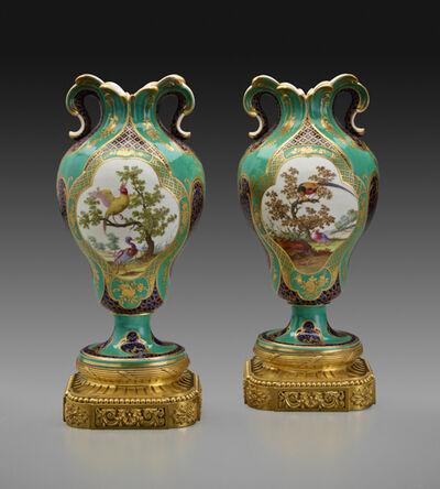 """Sèvres Porcelain Manufactory, 'Two Vases """"à Oreilles""""', ca. 1759"""