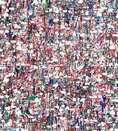 Amy Ellingson, 'Variation (white, red, black)', 2021