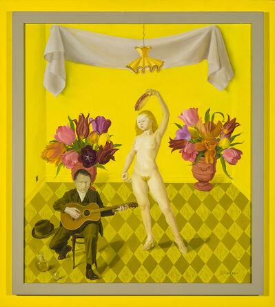 Honoré Sharrer, 'Painted Smiles', 1988