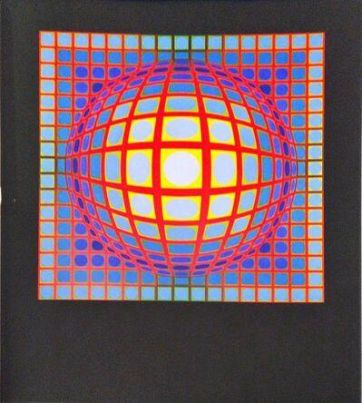 Victor Vasarely, 'Dia- Ga', 1974