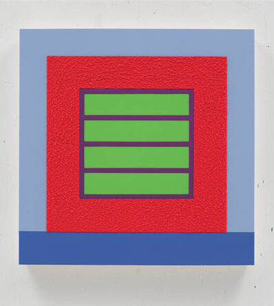 Peter Halley, 'Red Prison', 2013