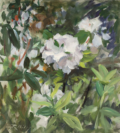 Irving Ramsey Wiles, 'Rhododendrons', Date Unknown
