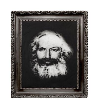 Thomas Feuerstein, 'MARXSCHE ENTFREMDUNG (Karl Marx im Angesicht von Margaret Thatcher)', 2018