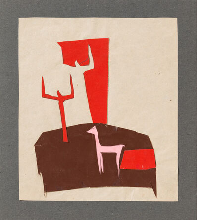 Mária Barta, 'Composition ', 1930's