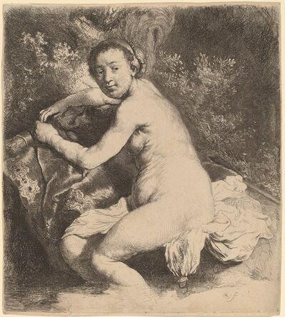 Rembrandt van Rijn, 'Diana at the Bath', ca. 1631