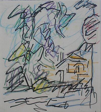 Frank Auerbach, 'Study for Park Village East', 2005