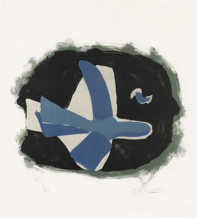 Georges Braque, 'Oiseau Des Forêts (Oiseau XVII) (Vallier 127)', 1958