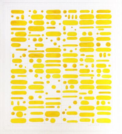 Matt Magee, 'Yellow Grapheme', 2012